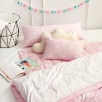 심플크라운(핑크)-ReFresh 키즈침구세트