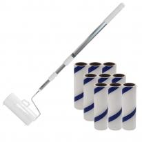 홈앤미 초강력 사선컷팅 테이프크리너 3단핸들세트+리필9p(60회)