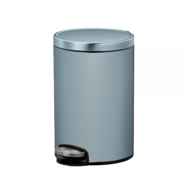 홈앤미 EKO 에바 페달 휴지통 8리터 (티타늄블루)