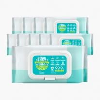 [아리얼] 의약외품 손 살균 소독 물티슈 15매,80매 (세트) / 10개 묶음 최대 구성
