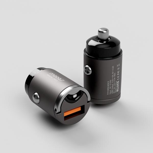 [무아스] 초미니 시거잭 차량용 고속충전기