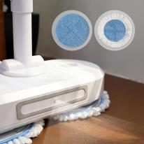 [무아스] 클린마스터 무선 전동 물걸레 청소기 저소음 듀얼스핀 바닥청소기