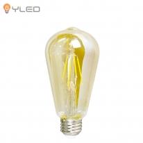LED전구 에디슨 가지램프 ST64 4W