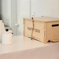 유러피안 스타일 자작나무 상자(조립형) happy box