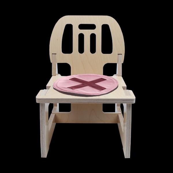 자작나무 미니의자(조립형) mini chair