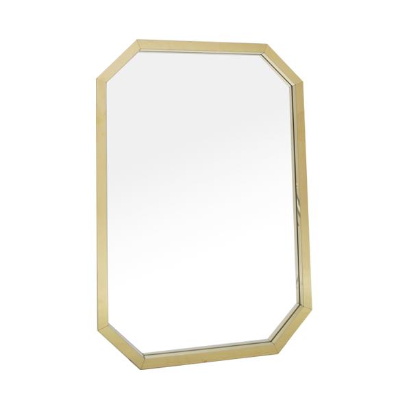 스텐 거울 팔각 | 4color | 주문제작상품 [3~7일소요] | 골드