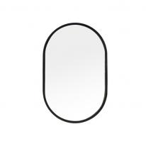 [어반테고] 메탈 타원형 거울 / 블랙