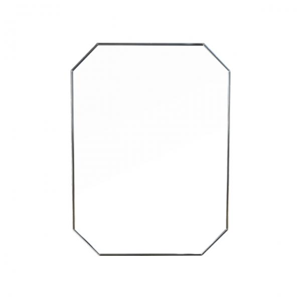 [어반테고] 메탈 팔각 거울 / 블랙