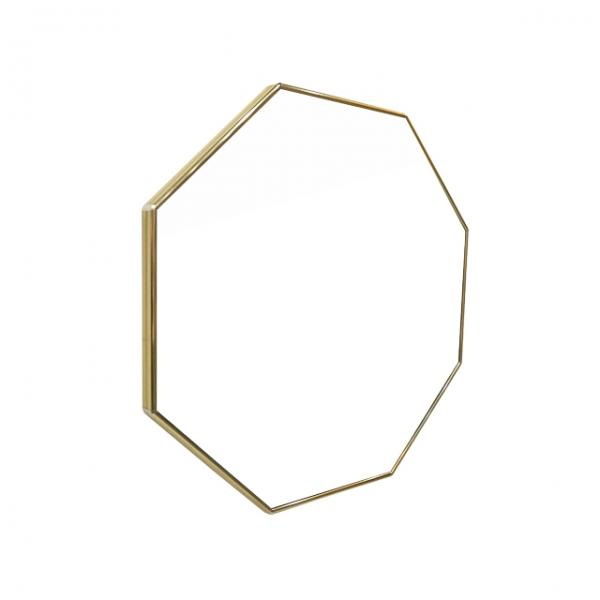 [어반테고] 메탈 정팔각 거울 / 골드