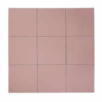 [어반테고] 어반테고 컬러 타일 | 핑크 | 1BOX 37장 = 1.44㎡ | 14color