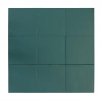 [어반테고] 어반테고 컬러 타일 | 다크그린 | 1BOX 37장 = 1.44㎡ | 14color