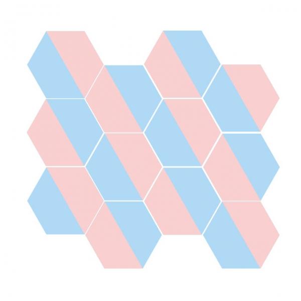 [어반테고] H하프 | 1BOX 18장 | 5color
