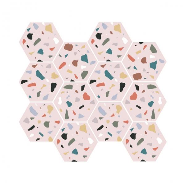 [어반테고] H테라조-S | 1BOX 18장 | 4color