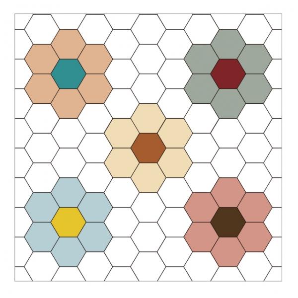 [어반테고] 미엘 | 1BOX 25장 | 7 color