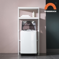 뉴 V2 스피드랙 세탁기선반 (분리기둥) 가로 800-1200