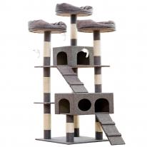 헬로망치 프리미엄 대형 고양이 직조 캣타워 MG8898