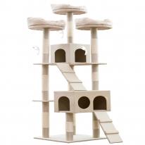 헬로망치 프리미엄 대형 고양이 직조 캣타워 MG8897