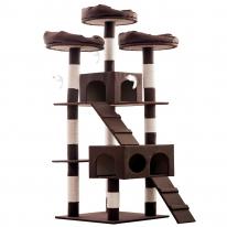 헬로망치 프리미엄 대형 고양이 직조 캣타워 MG8896
