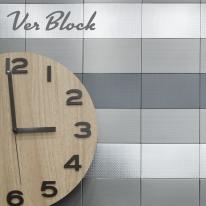 [단독특가]베르블럭 미니(MINI)브릭 스테인레스 DIY타일(6color/2size)
