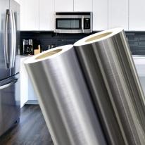 메탈 시트지 싱크대 냉장고 에어컨 가구 인테리어