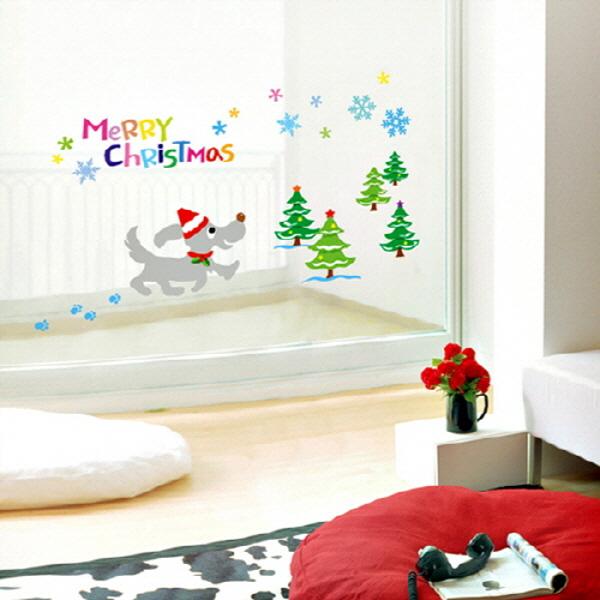 크리스마스스티커 크리스마스는 즐거워 (SX-MAS-04)