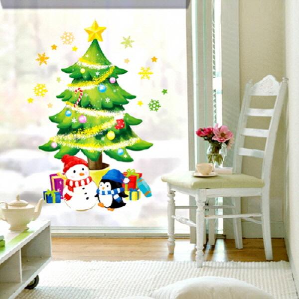 크리스마스스티커 크리스마스트리 (SX-MAS-06)