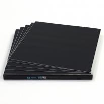 항균 스티커형 데코타일 솔리드 블랙 (SI-107)