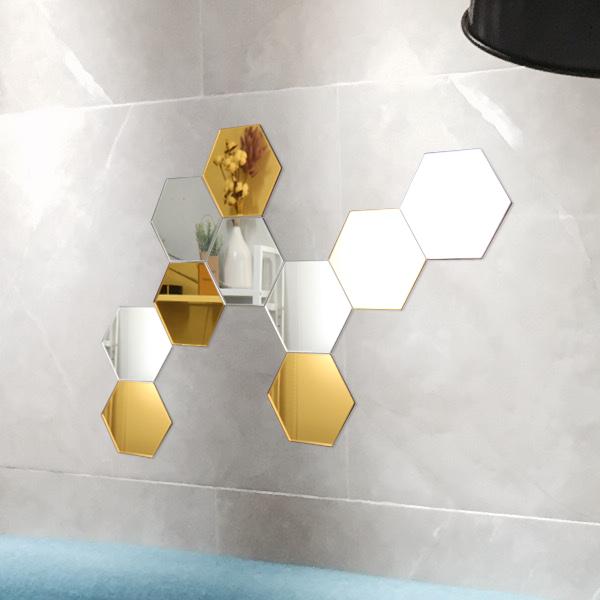 국내산 아크릴거울 육각거울 안전거울