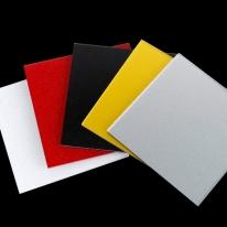 펄아크릴 판 제작 재단 가공 3T <br>백색 검정 빨강 금색 은색<br>(자동계산)