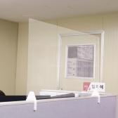 아크릴 가림막 투명 파티션 칸막이 45cm은행 관공서 콜센터