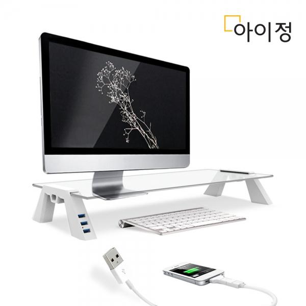 스마트독 컴팩트 USB 화이트/투명 C652
