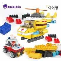아이정 파이블럭 5종변신 헬리콥터 장난감 세트