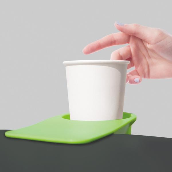 스마트폰 거치 집게형 테이블 컵홀더 다용도 수납