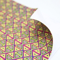 모칠라 - 삼각형 패브릭스티커
