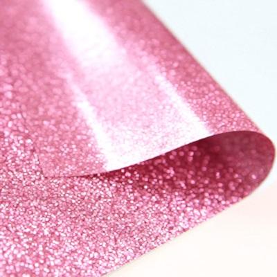 핑크 글리터 스티커