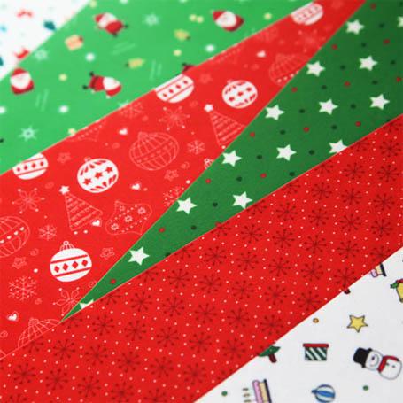 두근두근 크리스마스 패턴펠트지
