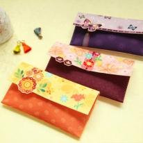 꽃내음 선물봉투 패턴펠트지