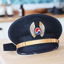 파일럿 모자 재단펠트지