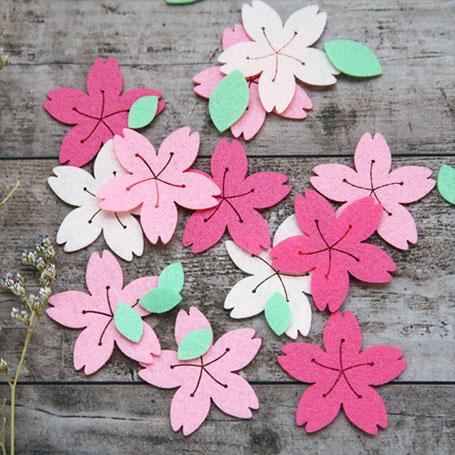 (소)벚꽃 재단펠트세트