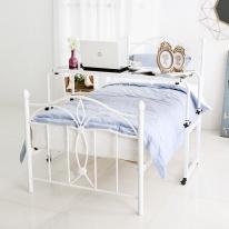 [바네스데코] 아이올라 침대 사이드 테이블 (black)