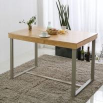 [바네스데코] LR 원목 레트로 프레임 2인용 식탁 테이블
