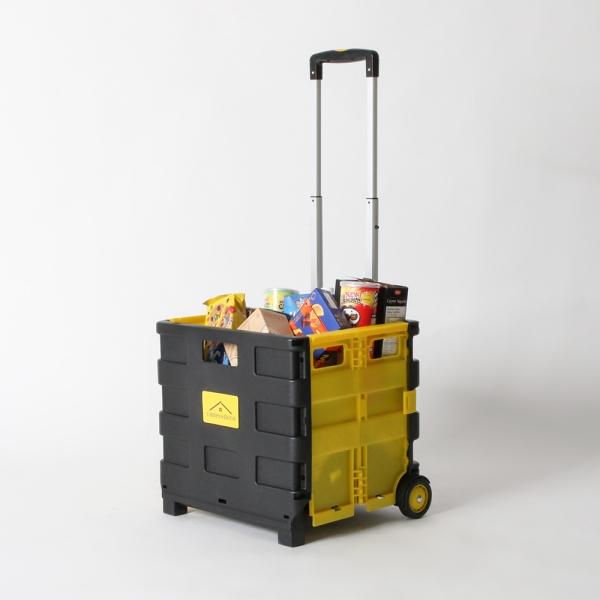 접이식 마트 장바구니 베니 컬러믹스 핸드 카트 33L/25kg