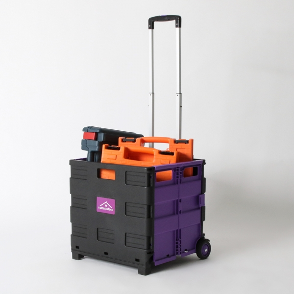 접이식 마트 장바구니 베니 컬러믹스 핸드 카트 50L/35kg