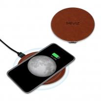 세비즈 초고속 책상용 사무실용 핸드폰 스마트폰 급속 무선 충전패드 원형 FC09