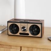 세비즈 RETRO20W 핸즈프리/USB/AUX/블루투스5.0/FM라디오 휴대용 스피커