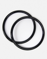 블랙 링 손잡이 (1세트/2개),가방손잡이,뜨개링용