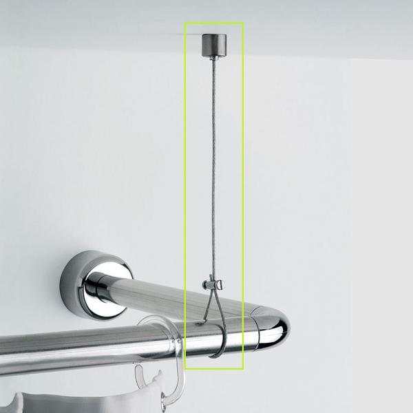 게디 코너형봉전용 높이조절 지지대 줄 (시공형)