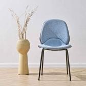 유스토 패브릭 식탁 의자