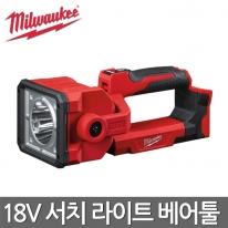 밀워키 충전 LED 서치라이트 M18 SLED-0 18V 베어툴 본체만