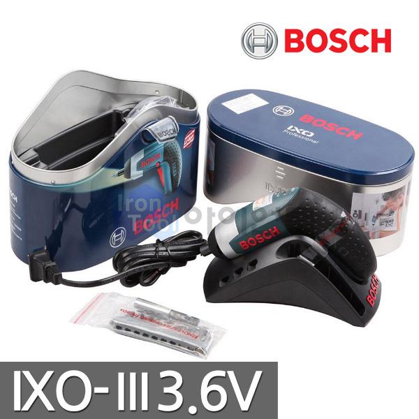 [보쉬] 충전스크류드라이버 IXO3 (3.6V)